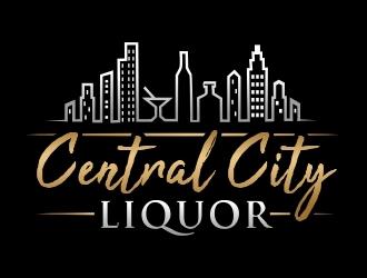 Central City Liquor  logo design by ruki