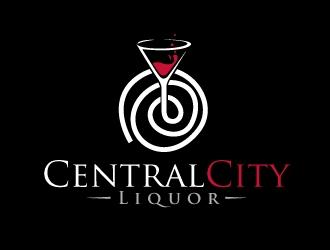 Central City Liquor  logo design by REDCROW