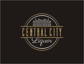 Central City Liquor  logo design by bunda_shaquilla
