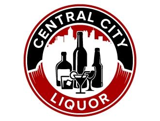 Central City Liquor  logo design by jaize