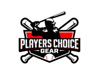 Players choice gear logo design