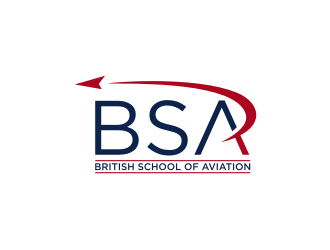 BRITISH SCHOOL OF AVIATION logo design
