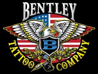 Bentley Tattoo Company logo design