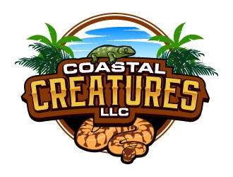 Coastal Creatures LLC  logo design