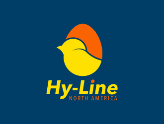 Hy-Line North America logo design