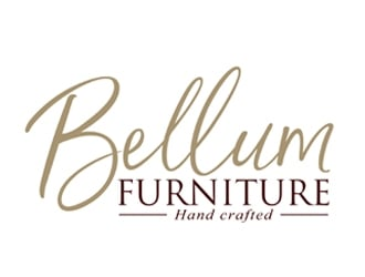 Bellum Furniture logo design