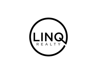 Linq Realty logo design