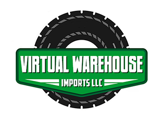 Virtual Warehouse Imports LLC logo design