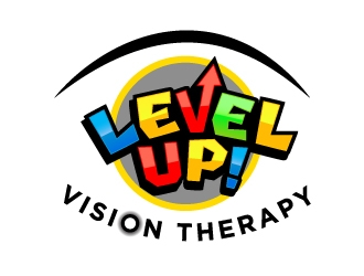 LEVEL UP! Vision Therapy logo design winner