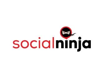 Social Ninja logo design