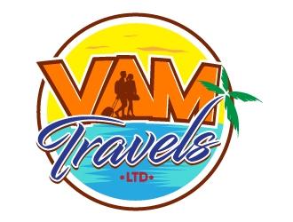 VAM Travels Ltd logo design winner