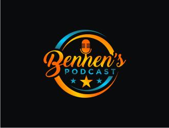 Bennen's podcast  logo design winner
