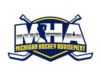 Michigan Hockey Advisement logo design