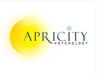 Apricity Psychology logo design