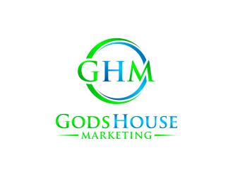 Gods House Marketing logo design by ubai popi