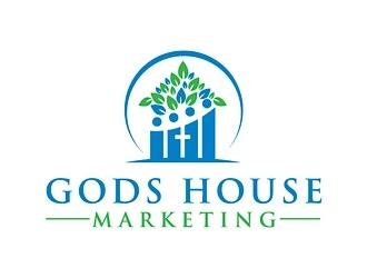Gods House Marketing logo design by logoguy