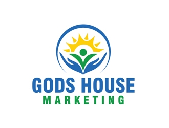 Gods House Marketing logo design by Roma