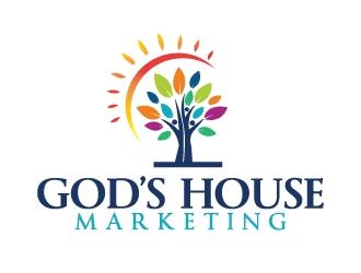 Gods House Marketing logo design by Erasedink