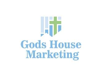 Gods House Marketing logo design by azure