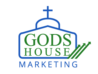 Gods House Marketing logo design by axel182