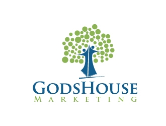Gods House Marketing logo design by art-design