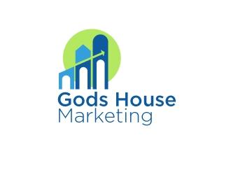 Gods House Marketing logo design by dondeekenz
