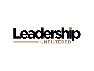 Leadership Unfiltered logo design