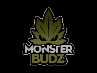 Monster Budz logo design