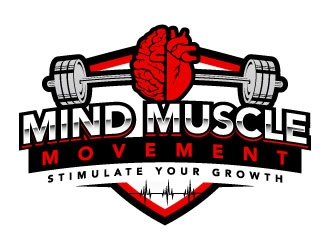 Mind Muscle Movement  logo design