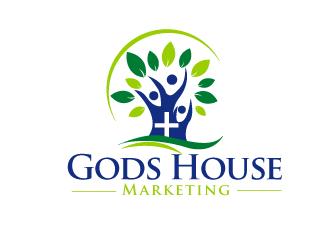 Gods House Marketing logo design by bloomgirrl