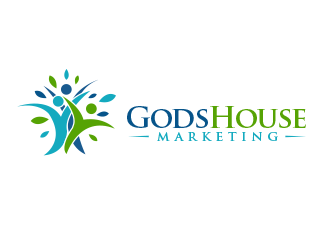 Gods House Marketing logo design by BeDesign