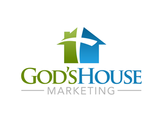 Gods House Marketing logo design by kunejo