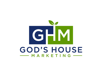 Gods House Marketing logo design