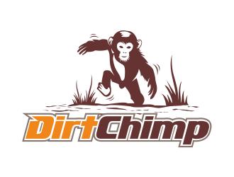 Dirt Chimp logo design