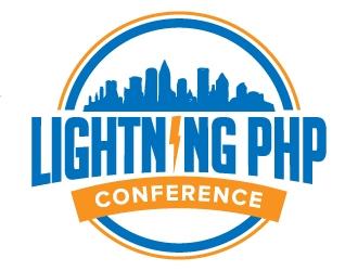 LIGHTNING PHP CONFERENCE logo design