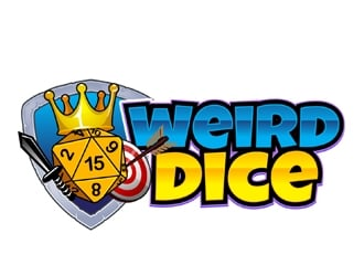 Weirddice.com logo design