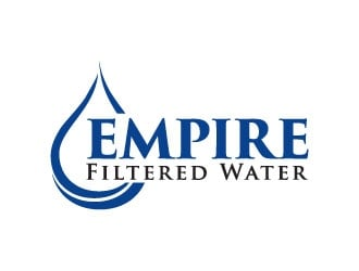 Empire Filtered Water logo design