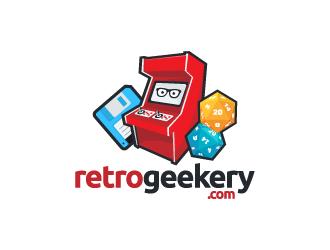 Retrogeekery.com logo design
