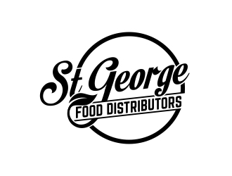 St George Food Distributors logo design