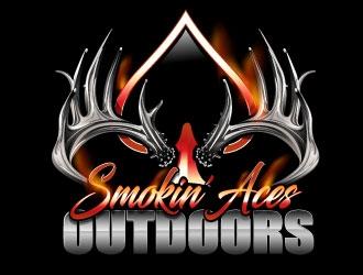 Smokin' Aces Outdoors logo design