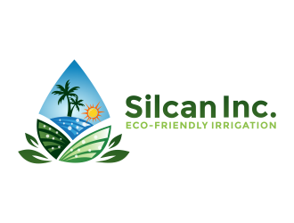 Silcan Inc logo design