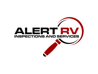 Alert RV Inspections and Services logo design
