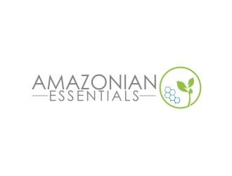 AMAZONIAN ESSENTIALS logo design