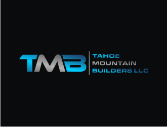 Tahoe Mountain Builders llc logo design