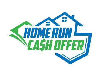 Home Run Cash Offer logo design