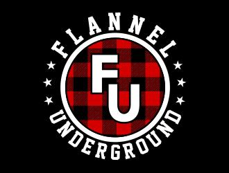 Flannel Underground logo design