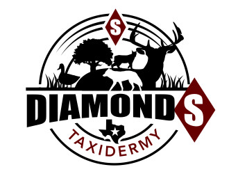 Diamond S Taxidermy  logo design