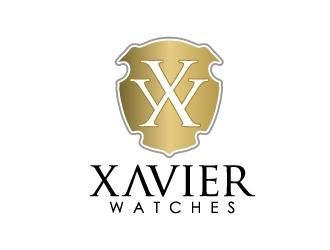Xavier Watches logo design