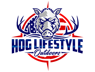 Hog Lifestyle  logo design