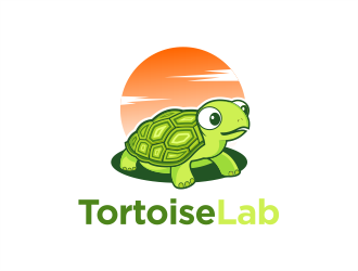 TortoiseLab logo design